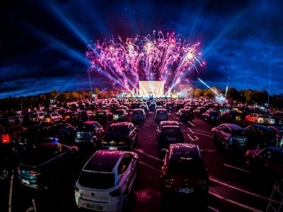 Linhares vai ter show drive-in